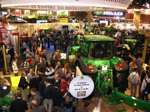 Salon international du machinisme agricole les for Salon du materiel agricole